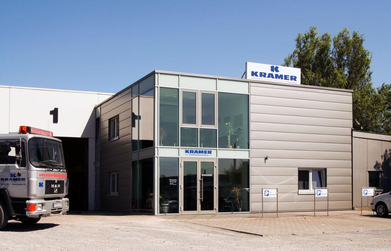 Verwaltung - Bürogebäude von Kramer Fahrzeugtechnik