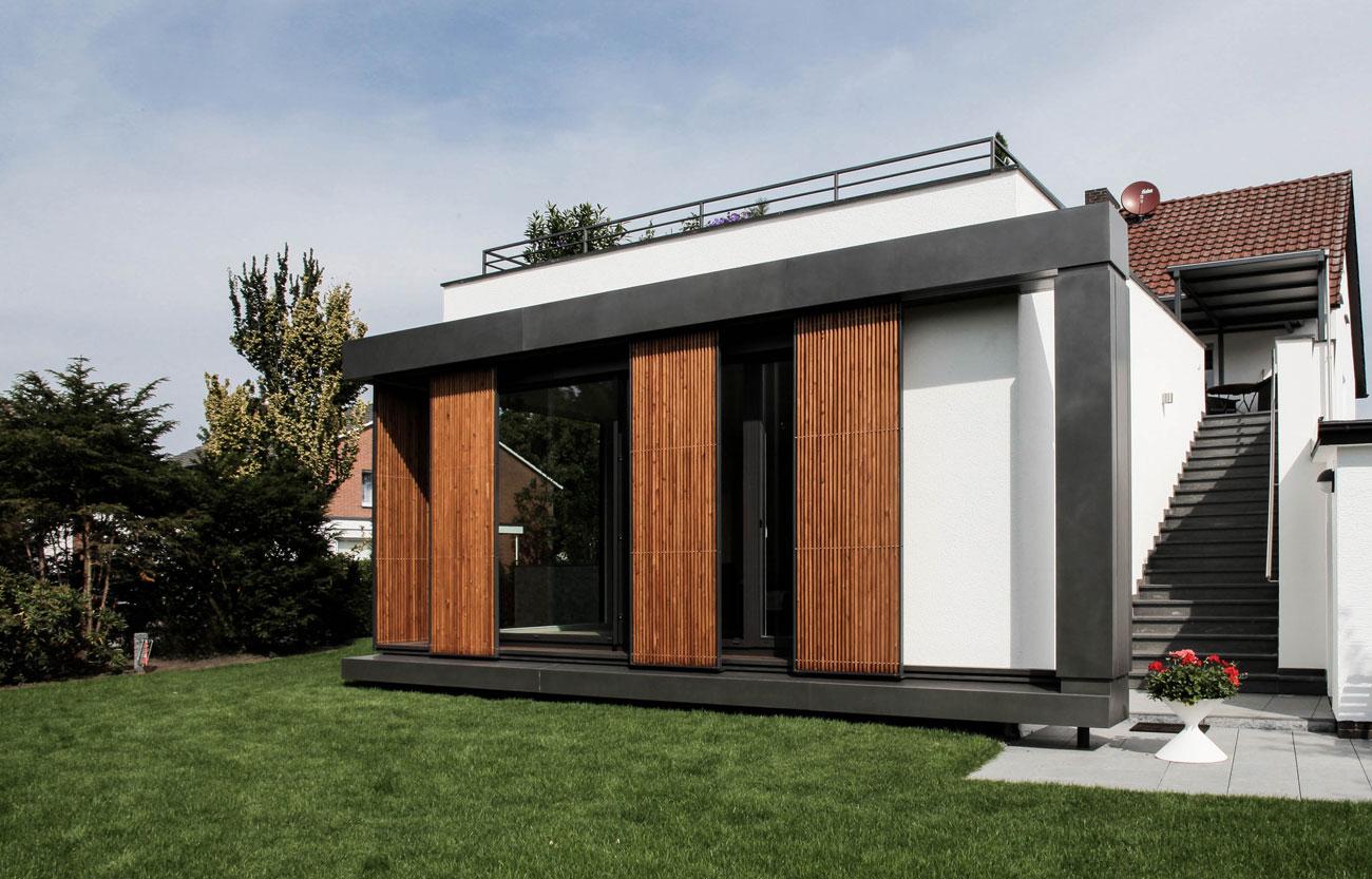 Anbau an ein Wohnhaus